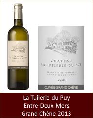 Tuilerie du Puy - Entre-Deux-Mers Grand Chêne 2013 (Petit)