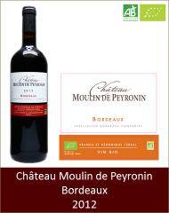 Moulin de Peyronin - Bordeaux Tradition 2012 (Petit)