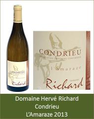 Hervé Richard - Condrieu Amaraze 2013 (Petit)