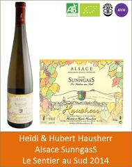 Hubert et Heidi Hausherr - Alsace Le Sentier au Sud 2014 (Petit)
