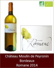 Moulin de Peyronin - Bordeaux blanc Romane 2014 (Petit)