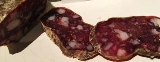 APPETIT - Saucisson artisanal de la ferme des Menhirs d'Albos (Cantal)