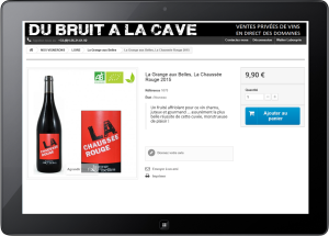 Grange aux Belles - Vin de France La Chaussée Rouge (du bruit a la cave)