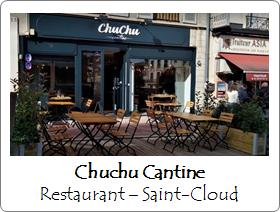 Chuchu cantine Saint Cloud