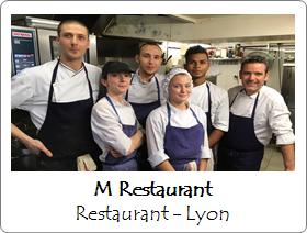 M Restaurant Lyon