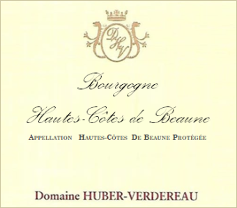 Huber-Verdereau Hautes Côtes de Beaune