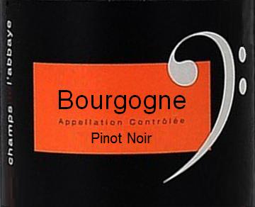 Les Champs de l'Abbaye Bourgogne Rouge