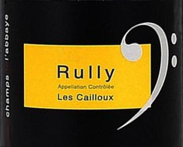 Les champs de l'abbaye Rully les cailloux