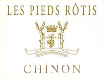 Chateau de Coulaine Chinon blanc Les Pieds Rôtis