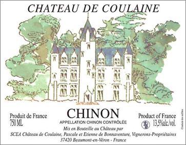 Chateau de Coulaine Chinon Tradition