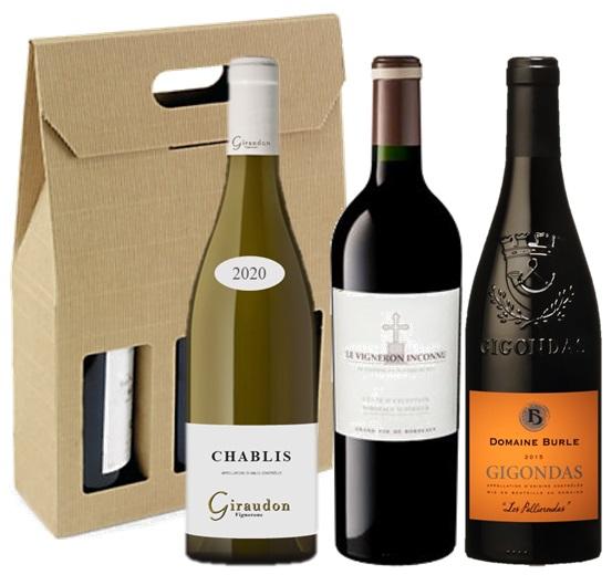 coffret cadeau vin valeurs sûres